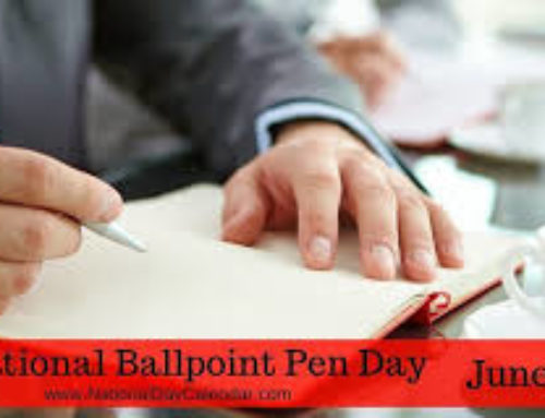 June 10th Ballpoint Pen Day