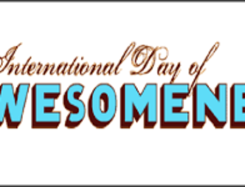 International Day of Awesomeness: March 10th