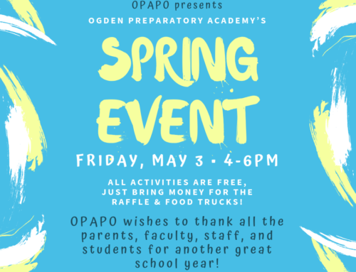OPAPO Spring Event Sign-Up