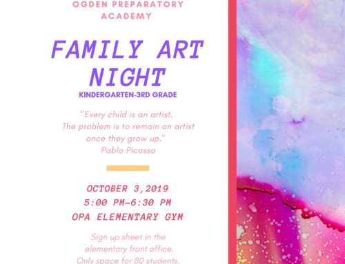 OPA Family Art Night
