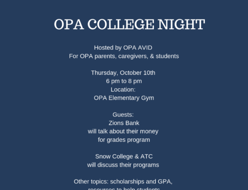 OPA College Night
