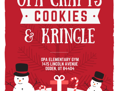 OPA Cookies, Crafts and Kringle