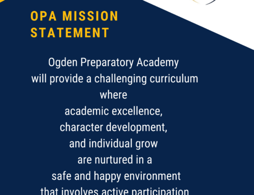 OPA Principals' Update: April 7th