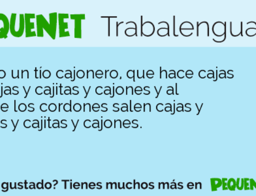 Spanish Tongue Twister: Cajonero