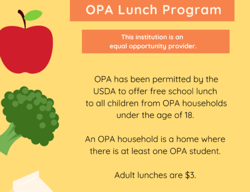 OPA Lunch Program